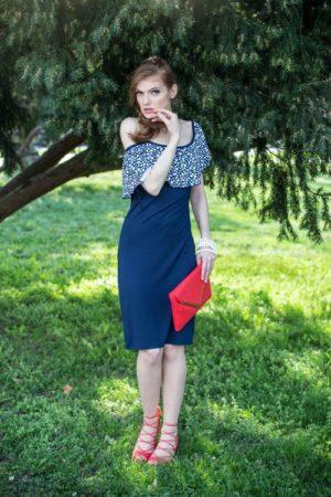 Mako Stream line Ženska haljina #3177132
