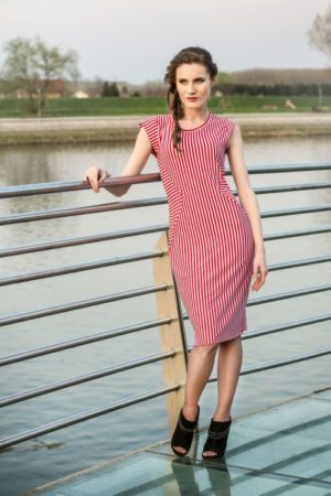 Mako Stream line Ženska haljina #3177141