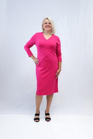 zenska haljina 2197379 pink naprijed