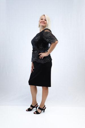 zenska haljina 2197437 crna strana