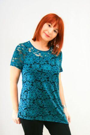 zenska bluza 3187262 tirkizna prednja