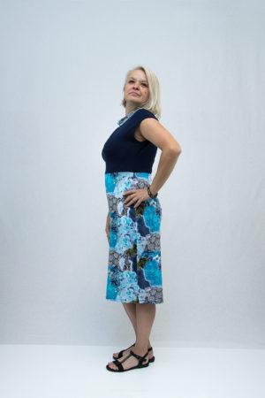 zenska haljina 3197410 plava strana
