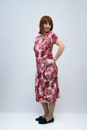 zenska haljina 3197437 crvena strana