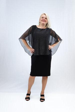 zenska haljina 2197438 crna naprijed