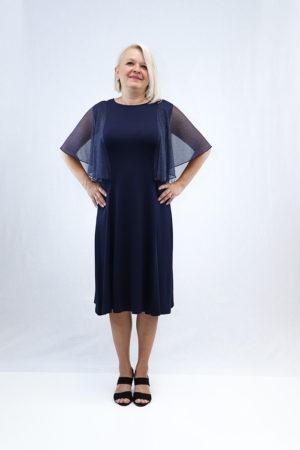 zenska haljina 2197439 tamno plava prednja