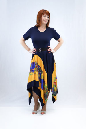 zenska haljina 3197390 plava naprijed