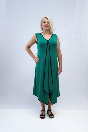 zenska haljina 3197407 zelena naprijed