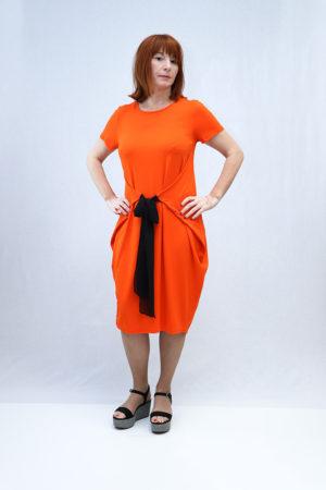 zenska haljina 3197415 narančasta naprijed