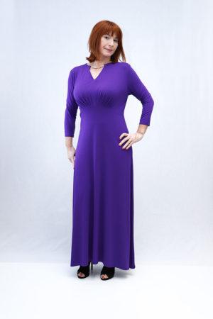 zenska haljina 3197416 ljubičasta naprijed