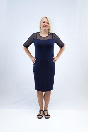 zenska haljina 3197445 tamno plava prednja