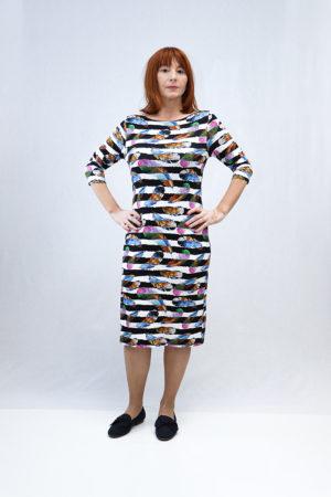 zenska haljina 2197400 sarena naprijed