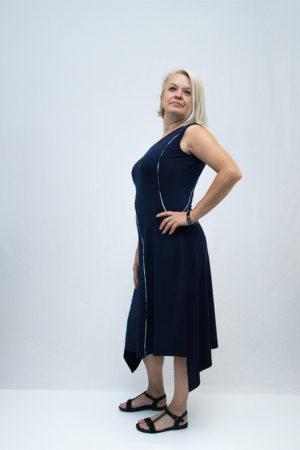 Ženska haljina 3197420 tamno plava strana