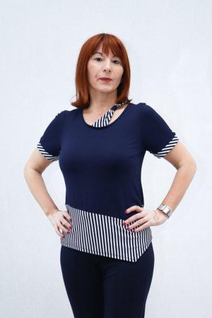 Zenska bluza 3197435 plava naprijed