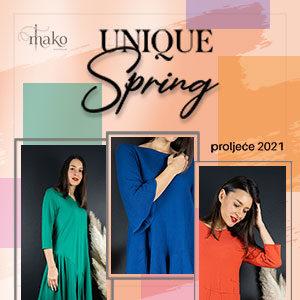 Nova kolekcija Unique Spring istaknuta slika